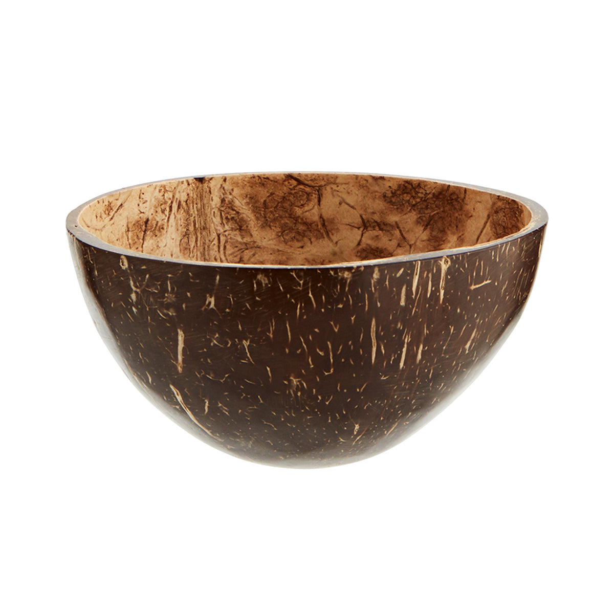 Madam Stoltz Coconut Shell Bowl - Scandi Minimal