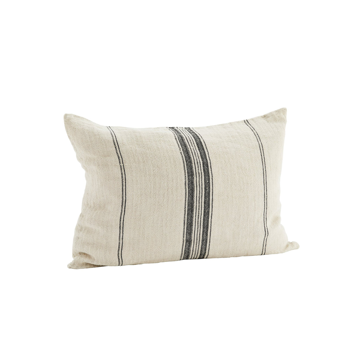 Madam Stoltz Linen Cushion Cover Beige - Scandi Minimal