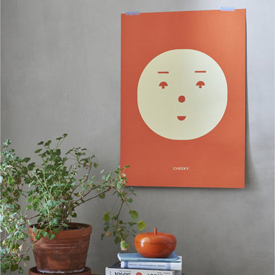 Mado Art Poster Cheeky Feeling - Scandi Minimal