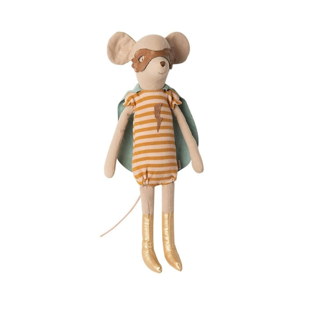 Maileg Super hero mouse, Medium - Girl - Scandi Minimal
