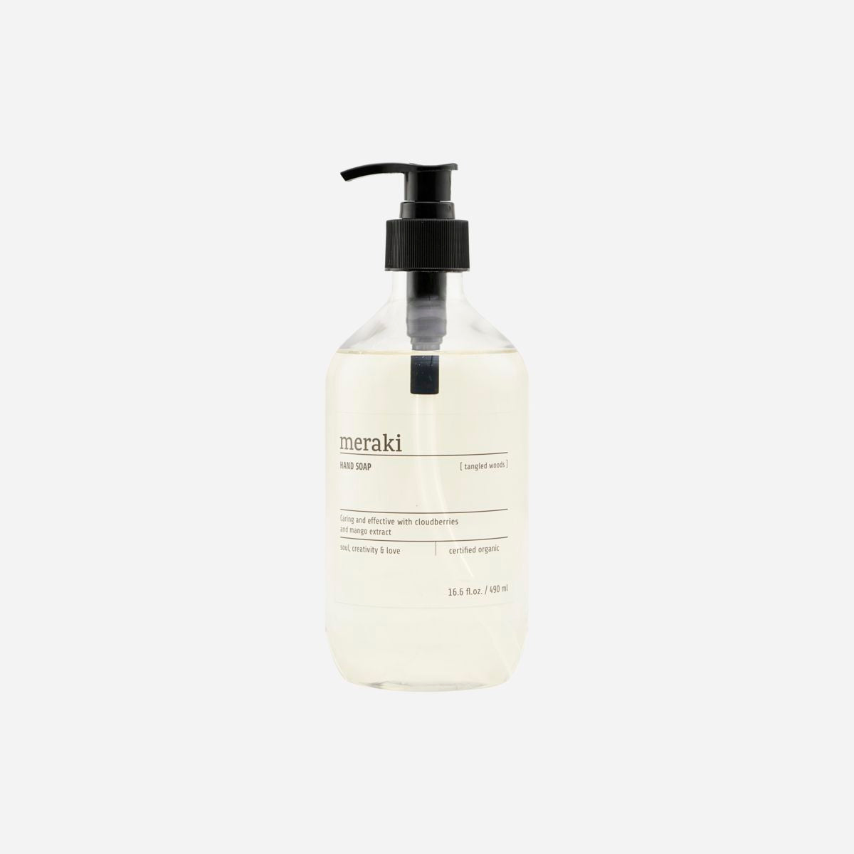 Meraki Hand Soap In Tangled Woods - Scandi Minimal