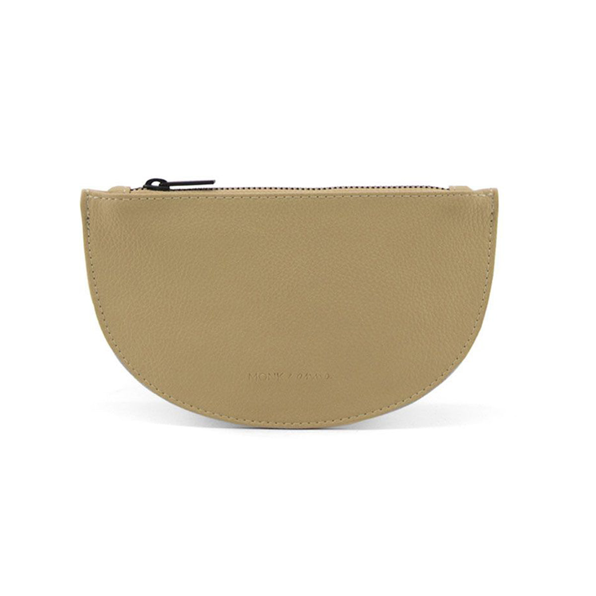 Monk & Anna Mondo Moon Wallet In Straw - Scandi Minimal