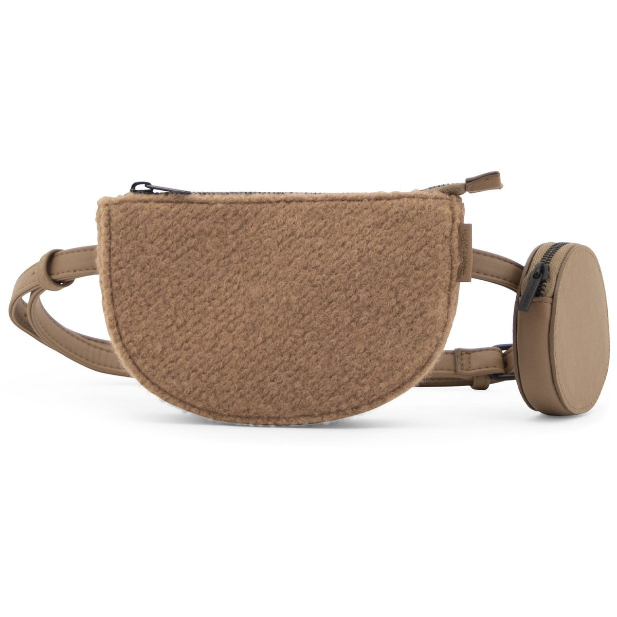 Monk & Anna Toho Belt Bag | Wool | Cocoa - Scandi Minimal
