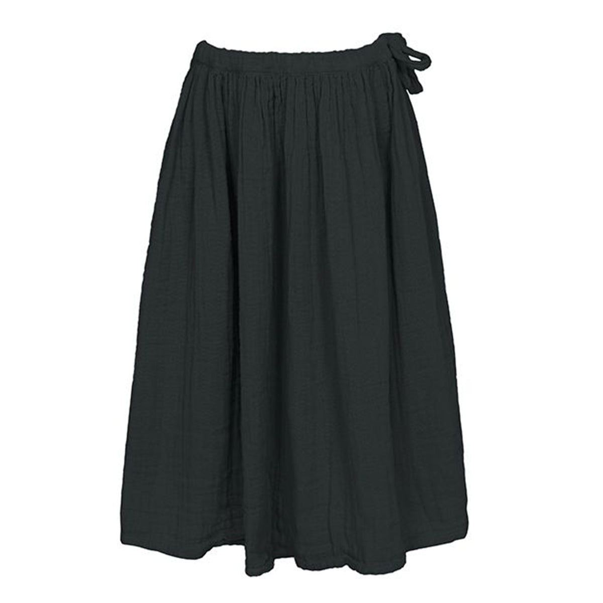 Numero 74 Ava Skirt Dark Grey - Scandi Minimal