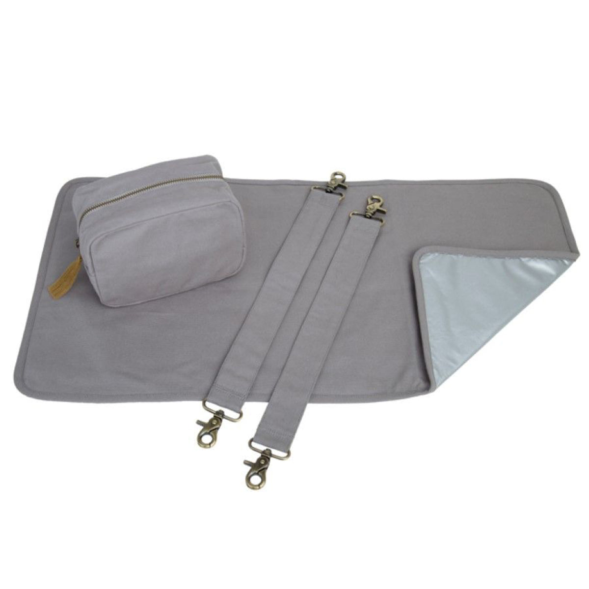 Numero 74 Canvas Multi Bag Baby Kit Stone Grey - Scandi Minimal