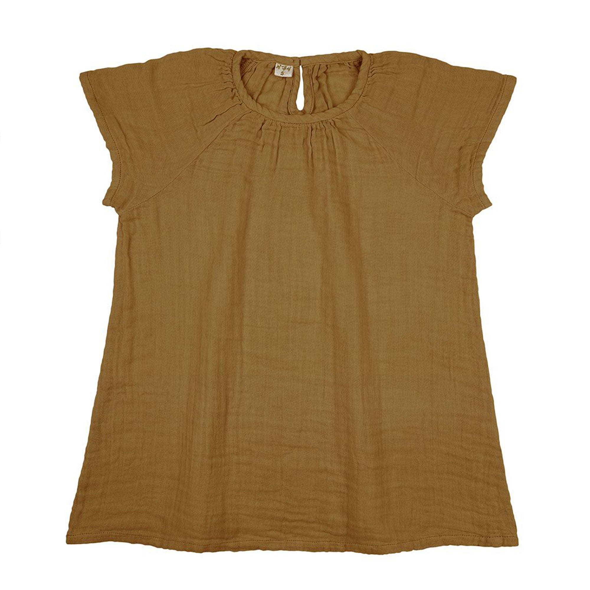 Numero 74 Clara Dress Gold - Scandi Minimal