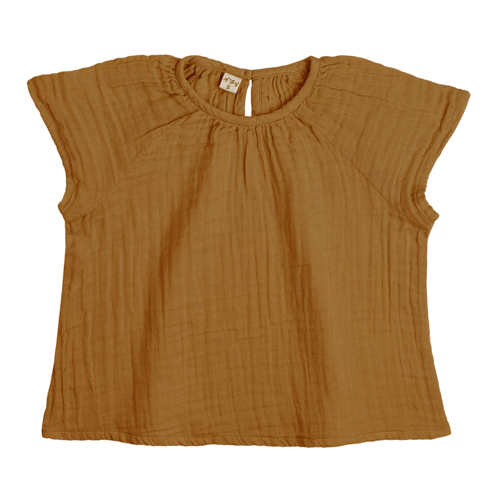 Numero 74 Clara Top Gold - Scandi Minimal