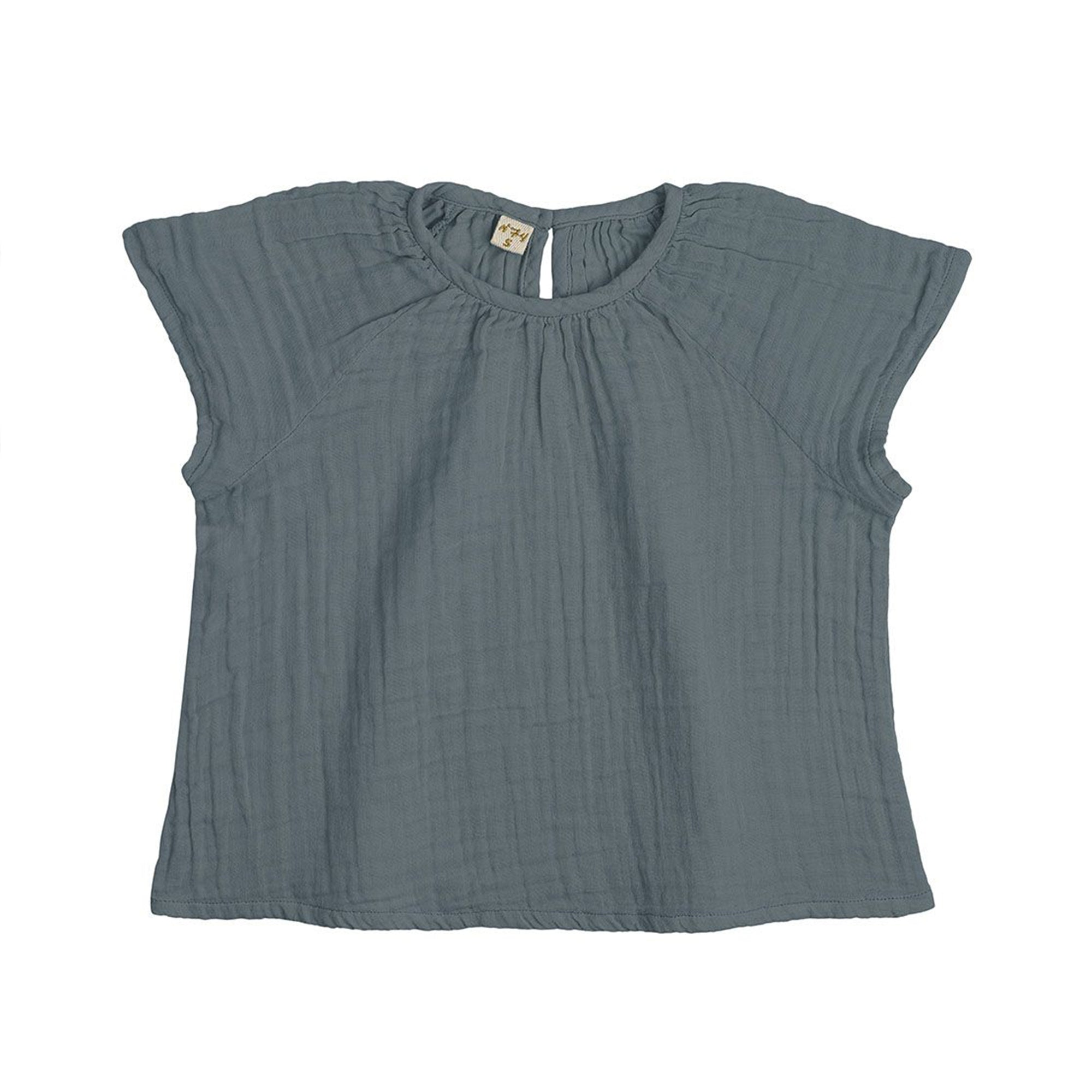 Numero 74 Clara Top Ice Blue - Scandi Minimal