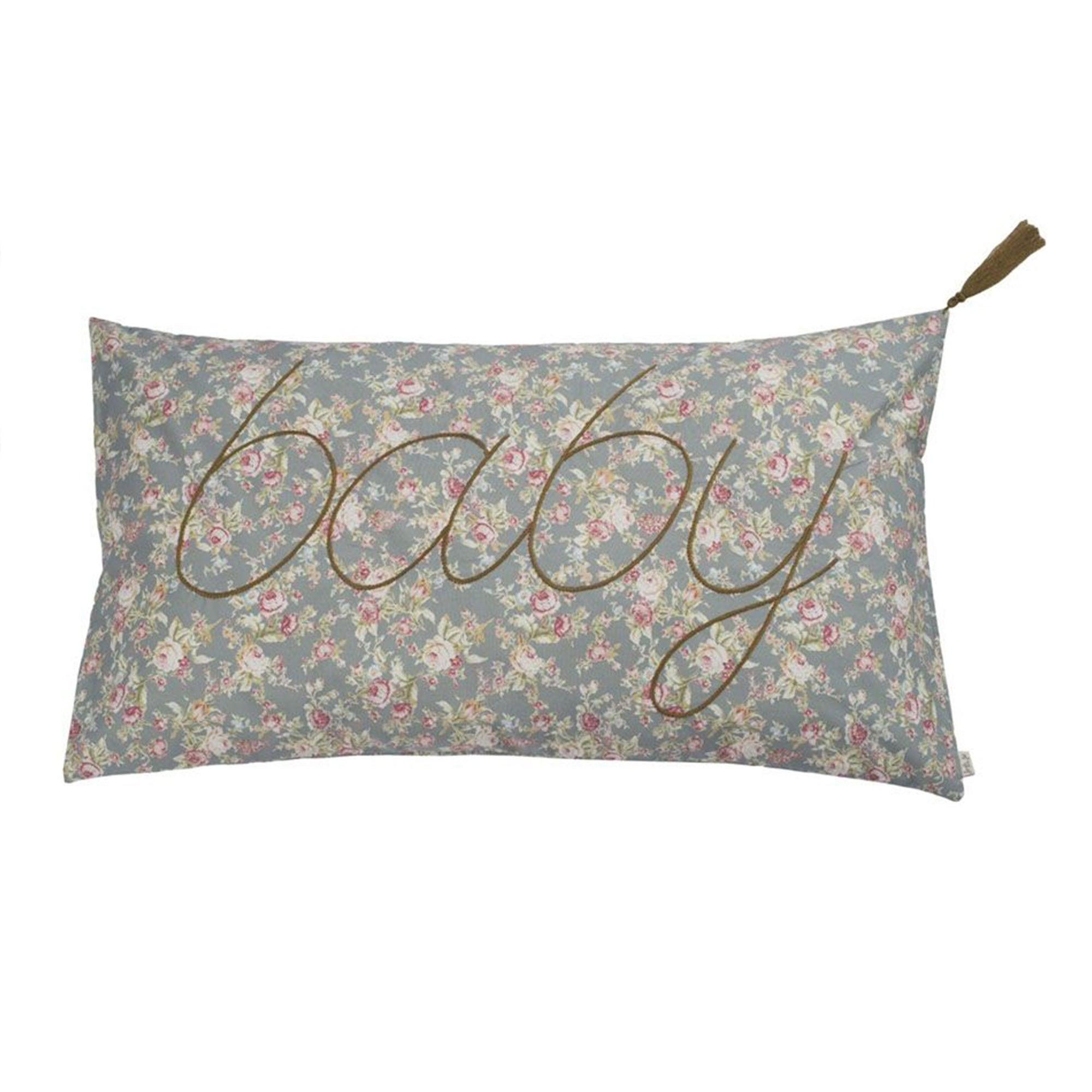 Numero 74 Flower Baby Message Cushion Cover - Scandi Minimal