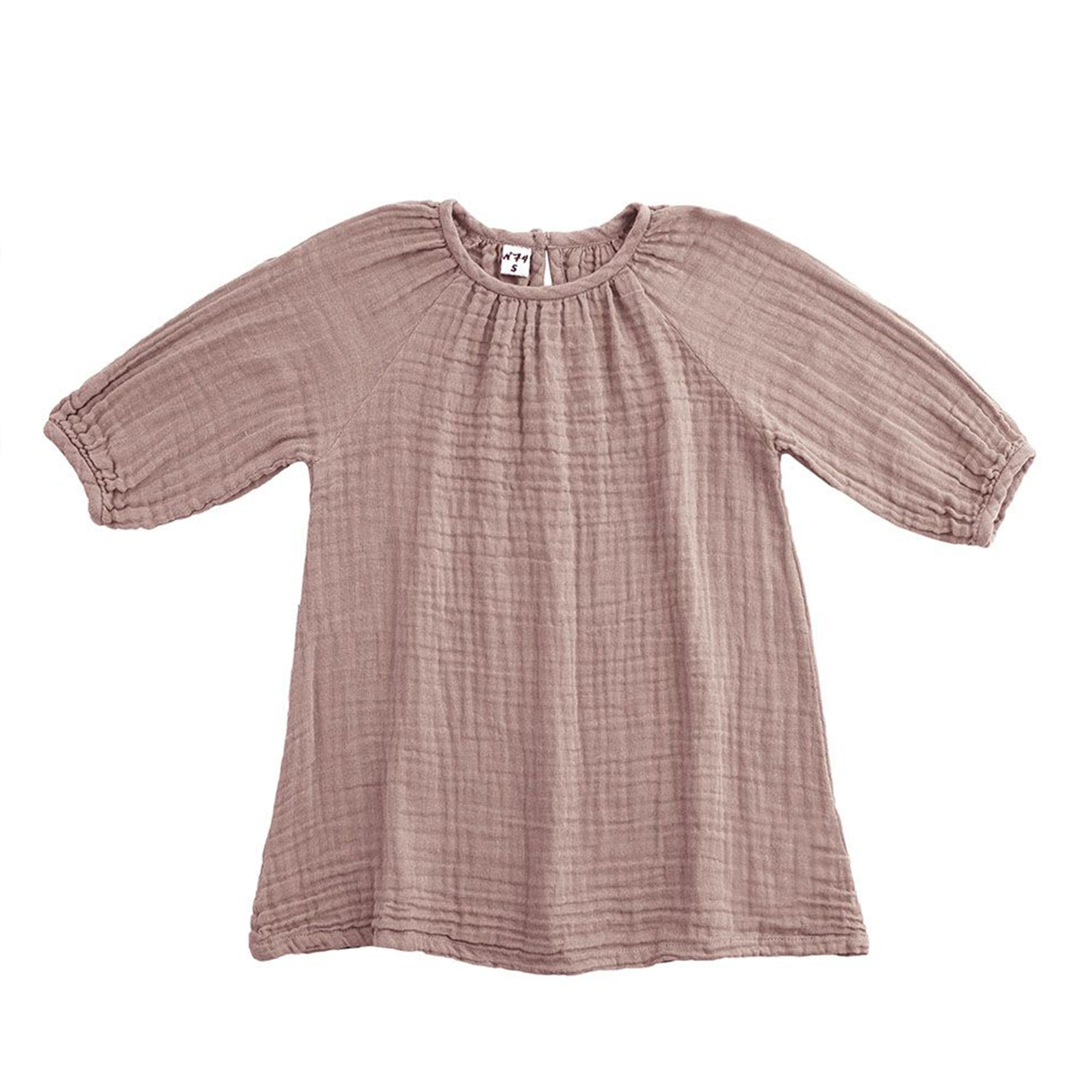 Numero 74 Nina Dress Dusty Pink - Scandi Minimal
