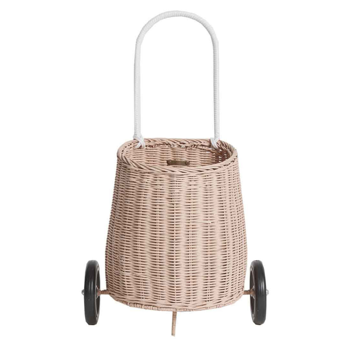 Olli Ella Luggy Basket Rose - Scandi Minimal
