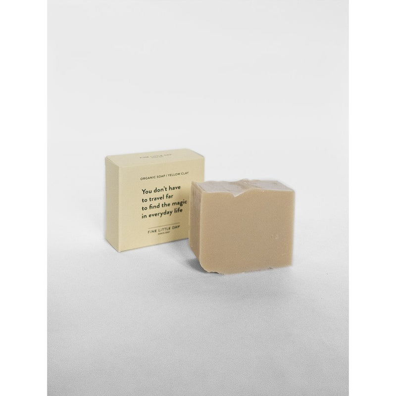 Fine Little Day Organic Soap, Yellow Clay - Scandi Minimal