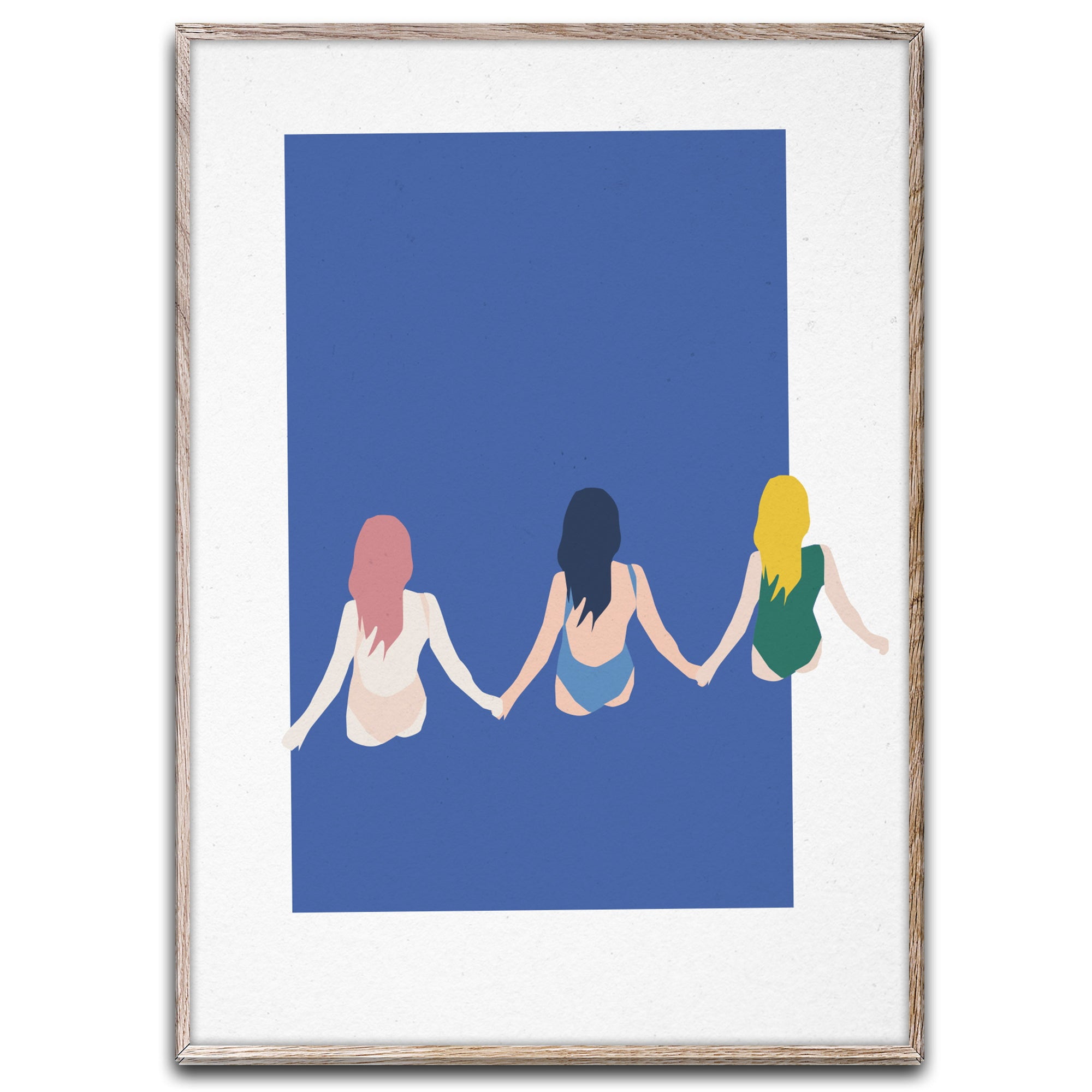 Paper Collective Girls Poster - Scandi Minimal