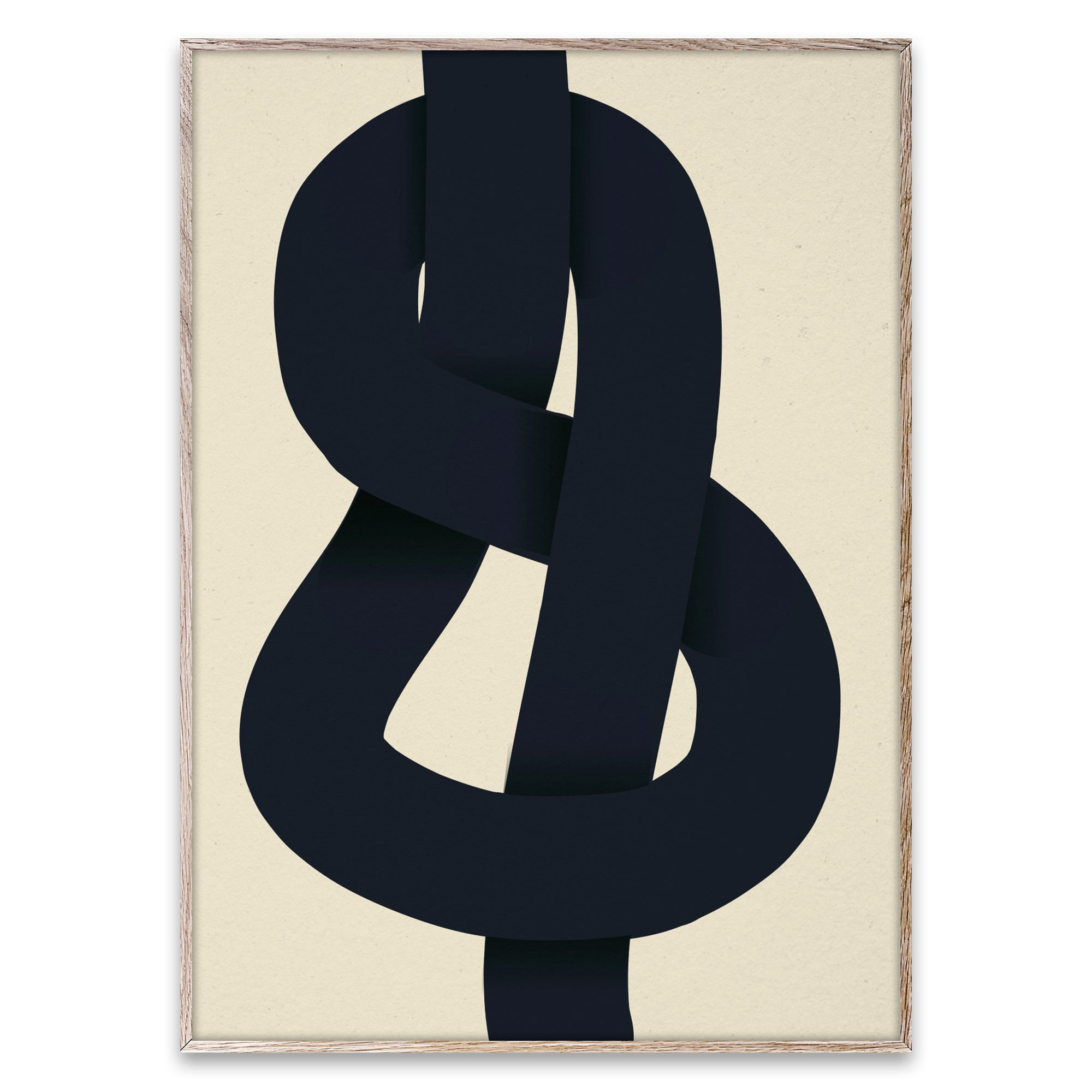 Paper Collective The Knot Poster - Scandi Minimal
