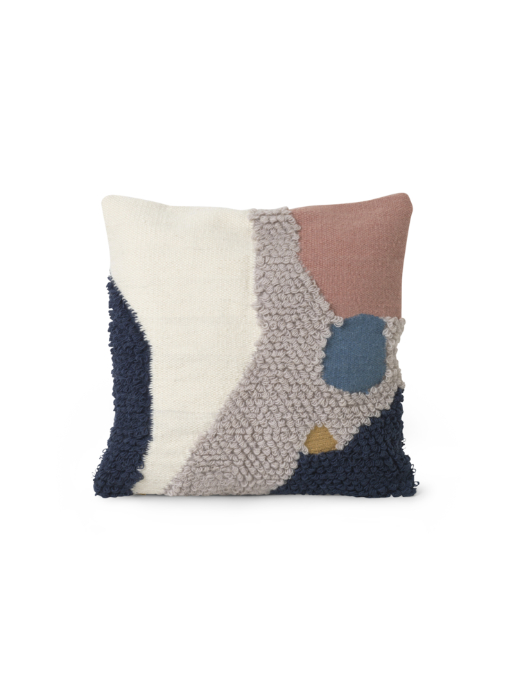 Ferm Living Loop Cushion - Landscape - Scandi Minimal