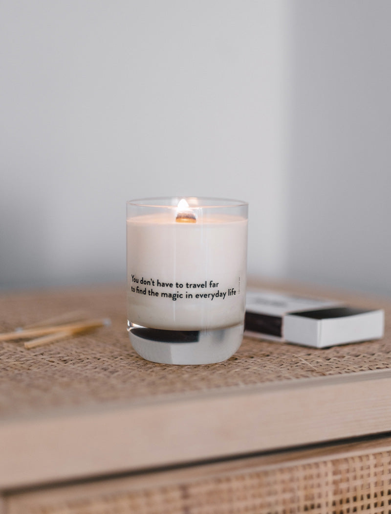 Fine Little Day Scented Candle, A day at the SPA - Scandi Minimal