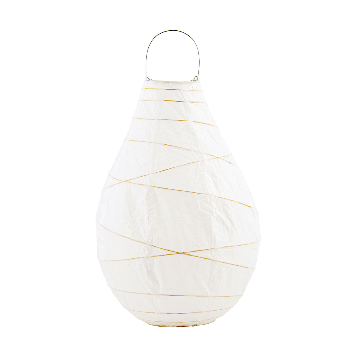 House Doctor Indoor/Outdoor Drop Lantern White - Scandi Minimal