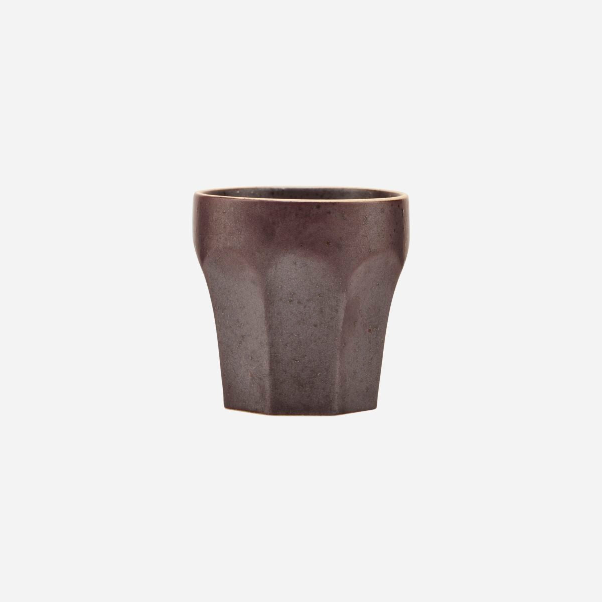 House Doctor Espresso Cup, Berica, Brown - Scandi Minimal