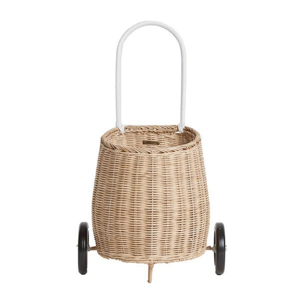 Olli Ella Luggy Basket Straw - Scandi Minimal