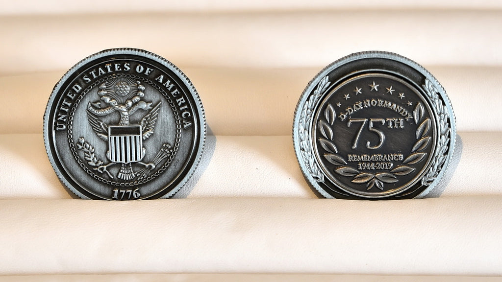 Challenge Coin - D-Day 75th Anniversary