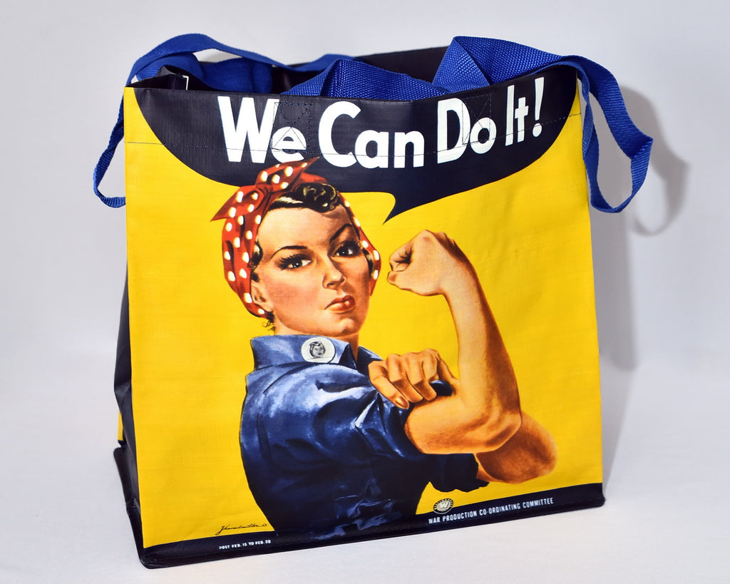 Rosie the Riveter Reusable Bag