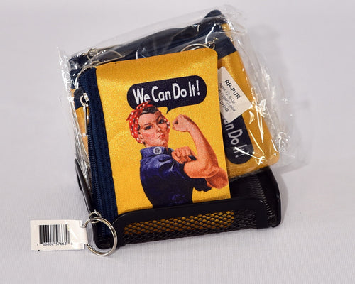 Rosie the Riveter Coin Purse