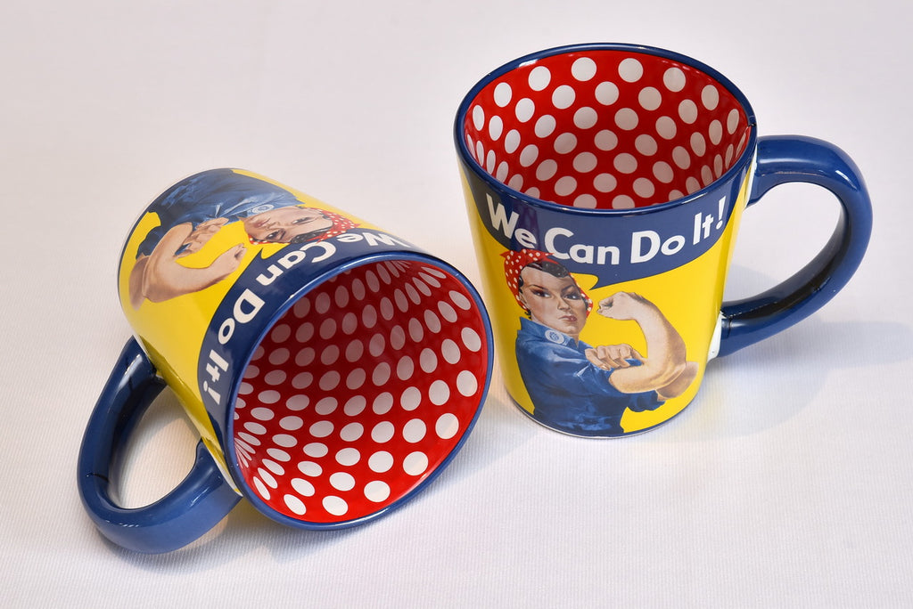 Rosie the Riveter Ceramic Coffee Mug