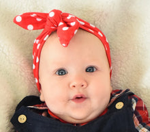 Load image into Gallery viewer, Mommy and me Rosie Headbands (For baby)