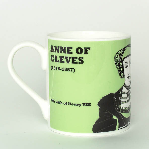 Anne of Cleves mug by Cole of London