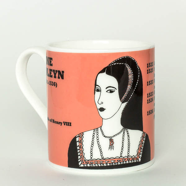 Anne Boleyn mug by Cole of London