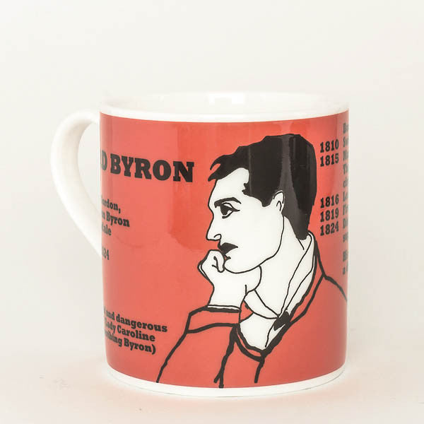 Byron mug by Cole of London