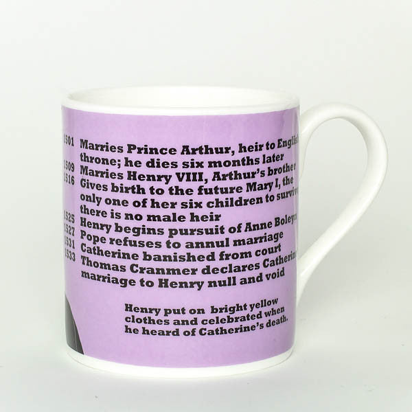Catherine of Aragon mug by Cole of London