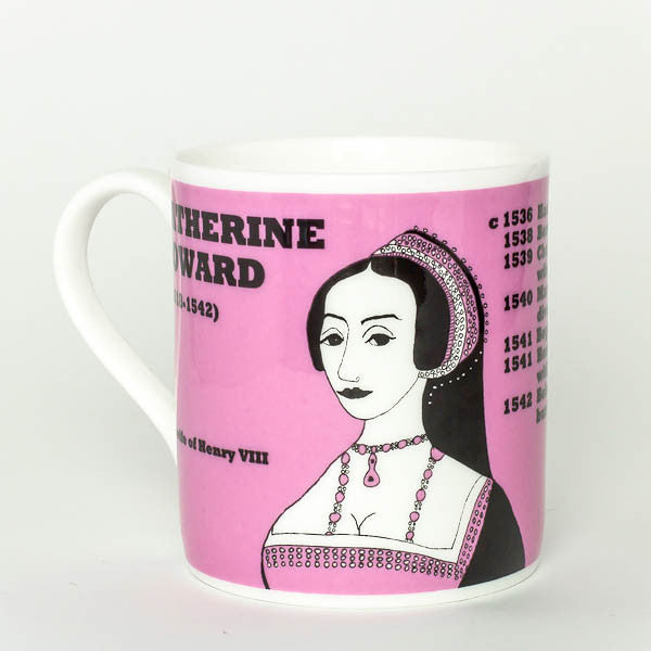 Catherine Howard mug by Cole of London