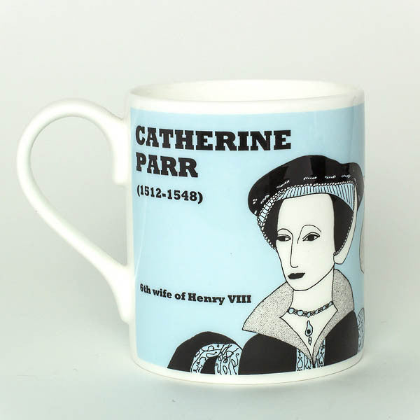 Catherine Parr mug by Cole of London