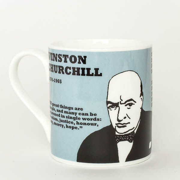 Winston Churchill mug by Cole of London