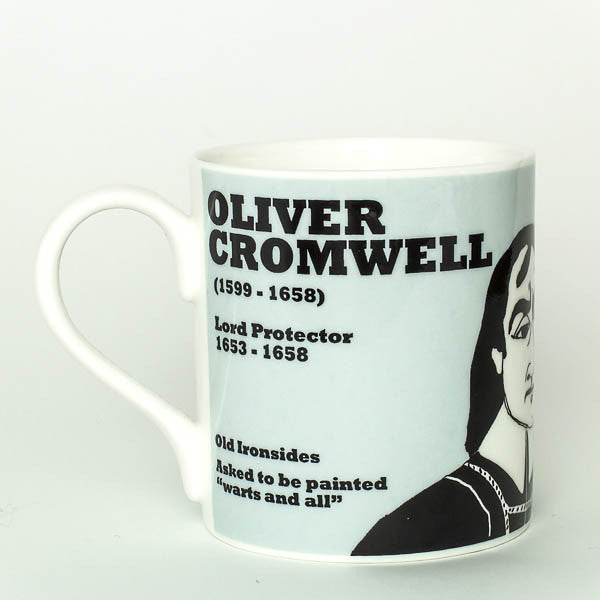 Oliver Cromwell mug by Cole of London
