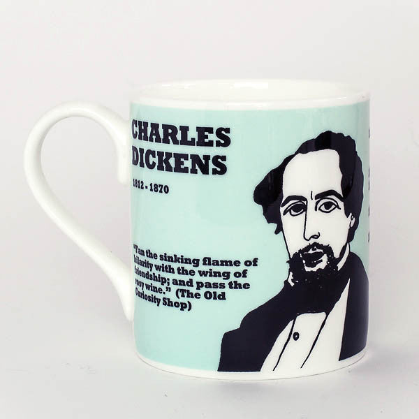 Charles Dickens mug by Cole of London