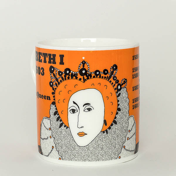 Elizabeth I mug by Cole of London