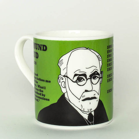 Sigmund Freud mug by Cole of London