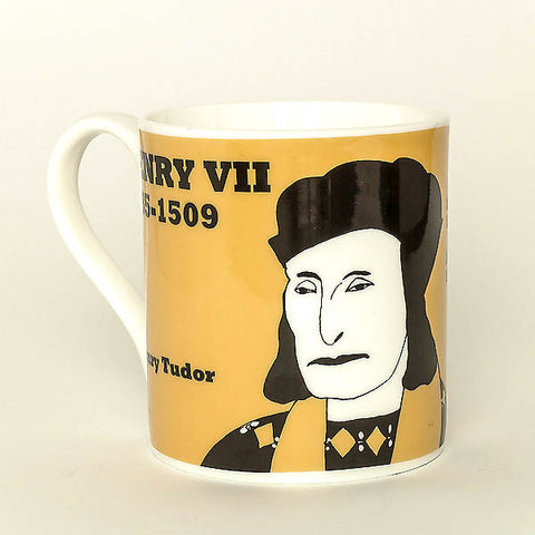 Henry VII mug by Cole of London