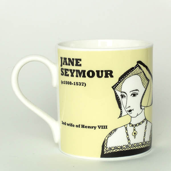 Jane Seymour mug by Cole of London
