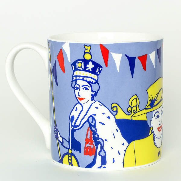 QEII Jubilee mug by Cole of London