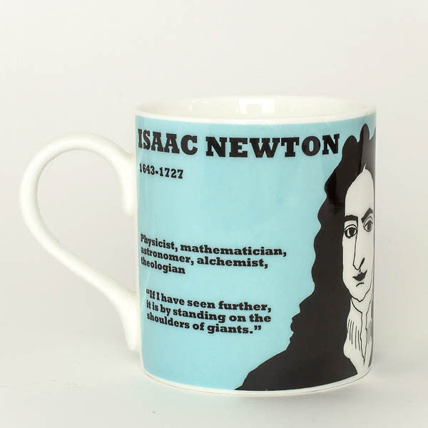 Isaac Newton mug by Cole of London