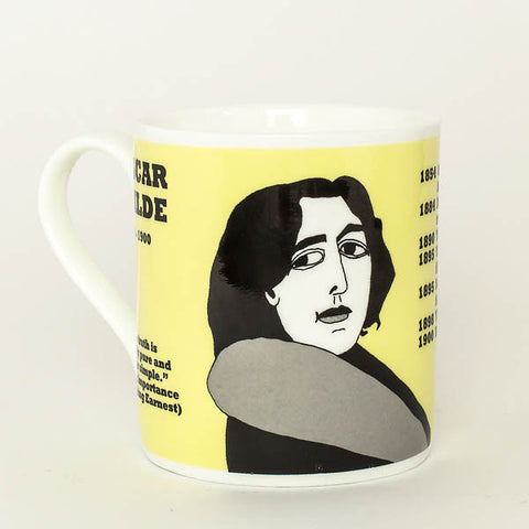 Oscar Wilde mug by Cole of London