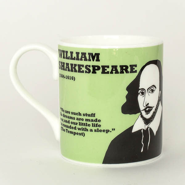 William Shakespeare mug by Cole of London