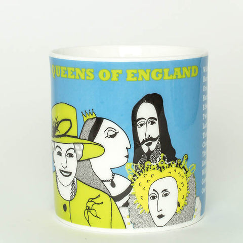 Kings and queens mug by Cole of London