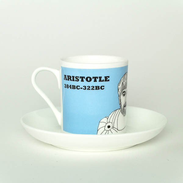 Aristotle espresso cup  by Cole of London