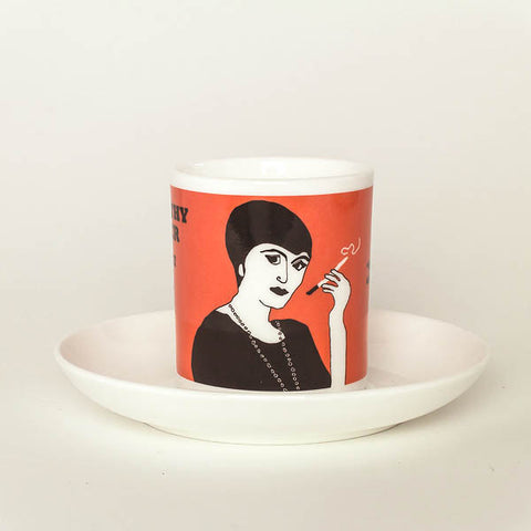 Dorothy Parker espresso cup by Cole of London