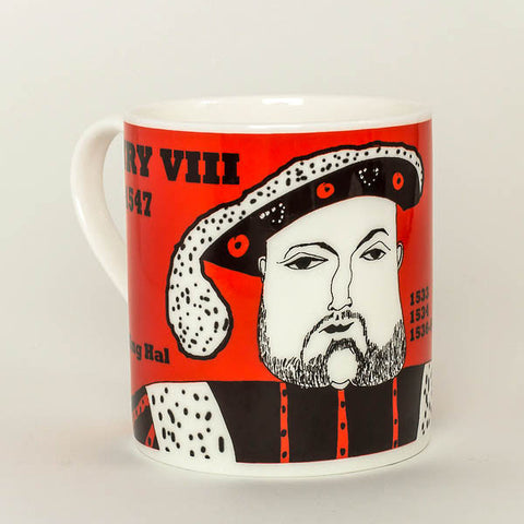 Henry VIII mug by Cole of London