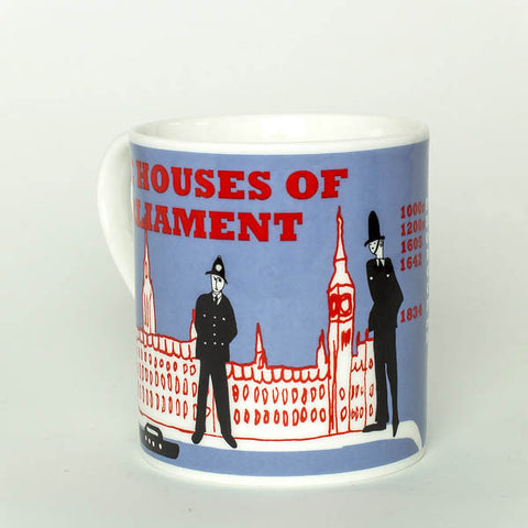 Houses of Parliament mug by Cole of London